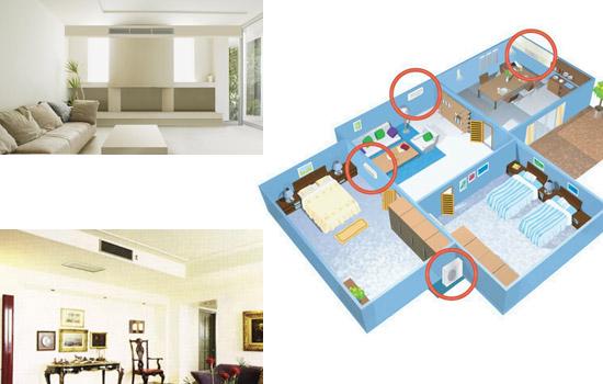 精品住宅带动国内家用中央空调市场需求