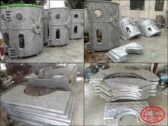 炉壳 铝壳 中频炉铝壳