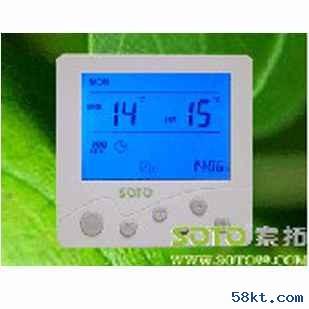 索拓可编程地暖温控器