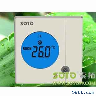 北京风机盘管液晶温控开关
