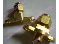 固定式带耳朵铜单接头