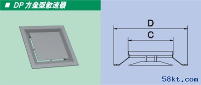 DP盘型散流器