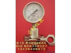 卫生型隔膜压力表Y100