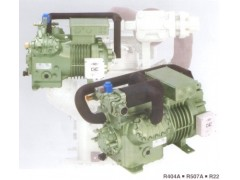 双级半封闭制冷压缩机