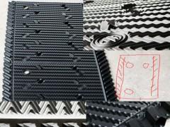 横流式冷却塔平行四边形填料