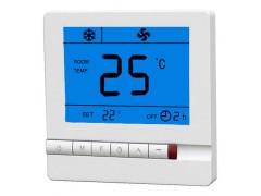 大液晶双显空调温控开关