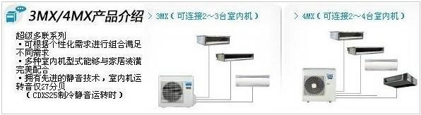 大金空调超级多联机3MX