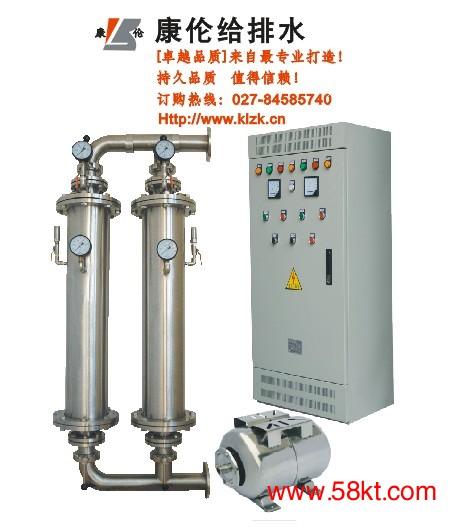 静音式无负压变频供水系统