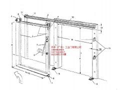 冷库设备冷藏门, 冷库安装专用