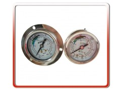 制冷机用高低压冷媒压力表