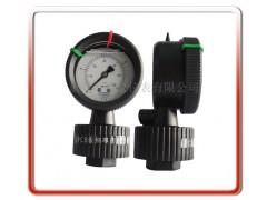 耐腐蚀耐酸碱PP隔膜压力表
