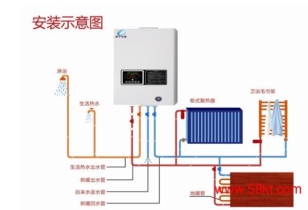 变频电采暖炉