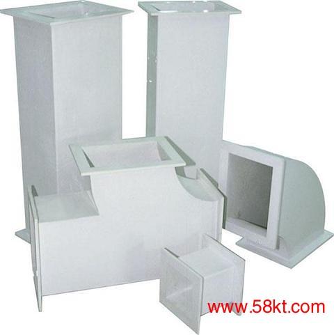 单层无机玻璃钢通风管道