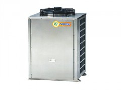 商用3P侧出风空气能热泵, 东莞工厂热水工程
