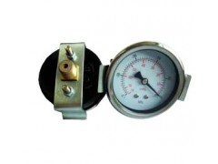 真空压力表, 供应60M背式带支架真空压力表