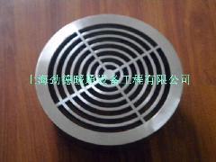 不锈钢圆形地板风口, 圆形地板散流器