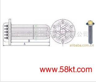 机械用电加热管