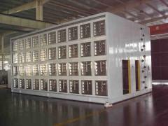 大型空气处理机组, 变频风机墙