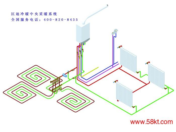 上海地暖采暖施工