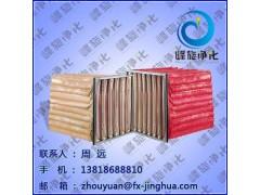 高温玻纤袋式过滤网, 玻纤袋式过滤器
