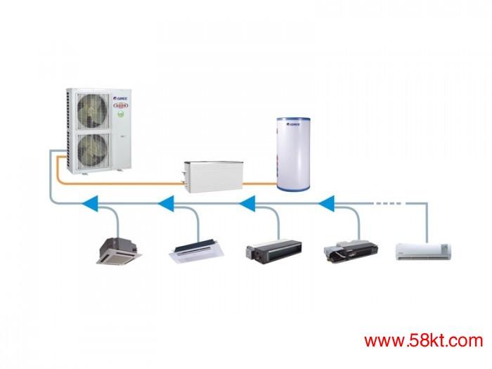 直流变频多联空调热水机组