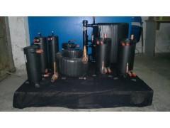 套管换热器, 采暖热泵机组、高效换热器