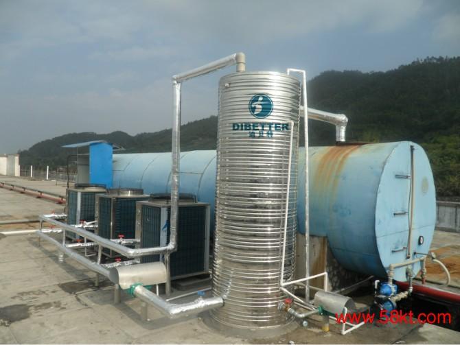 运用独特的小水箱带大水箱加热系统,保证源源不断的高温热水供应