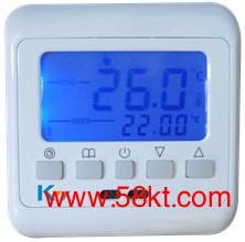 液晶编程电采暖温控器