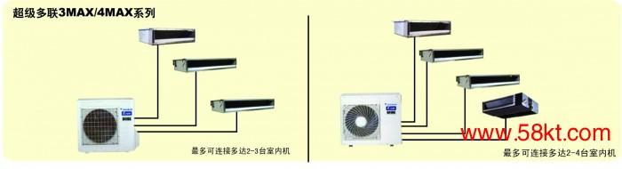 家用超级多联3MX/4MX中央空调