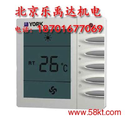约克风机盘管温控器液晶显示