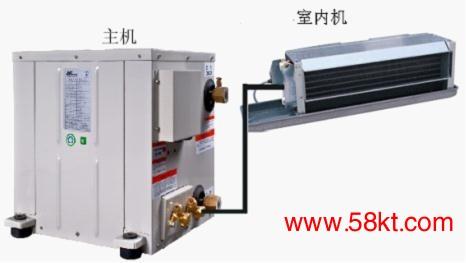 深圳美意分离式水源热泵