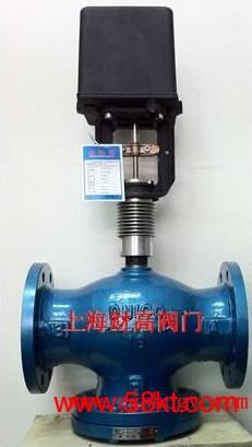 江森蒸汽用电动二通调节阀