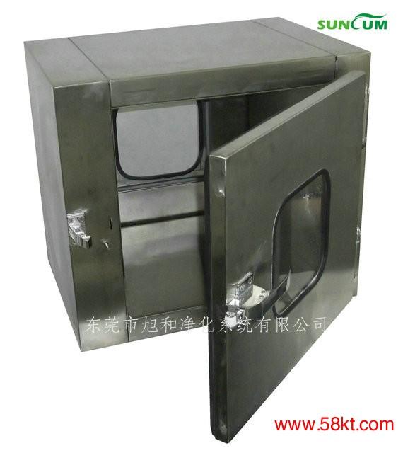 互锁式冷板烤漆传递窗
