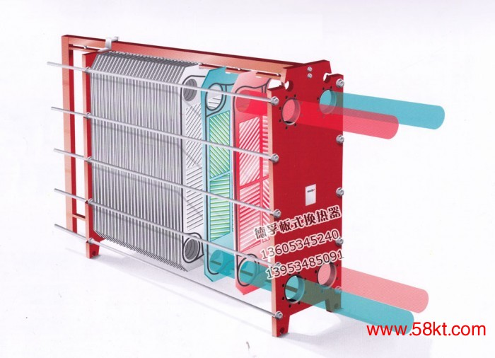 BR012可拆式板式换热器