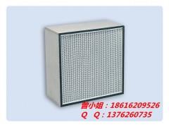 纸隔板空气过滤器