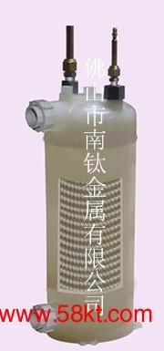 南钛PP-R外壳换热器