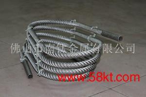 高效钛螺纹盘管换热器