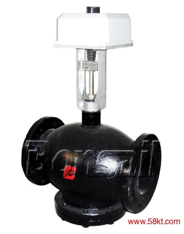 霍尼韦尔电动三通温控阀
