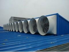 昆山厂房通风玻璃钢负压风机, 降温专用