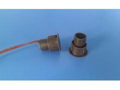 褐色圆形门磁有线门磁探测器