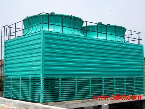 方形逆流玻璃钢冷却塔