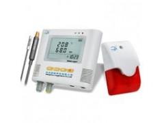 冷库外置带声光温湿度记录仪