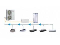 直流变频多联空调热水采暖机组三联供