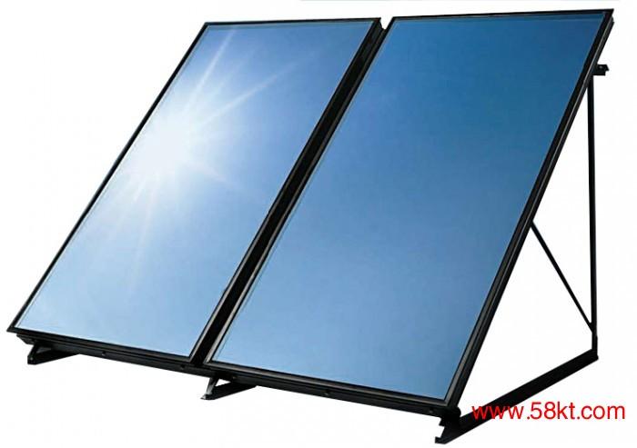 宜昌平板太阳能热水工程
