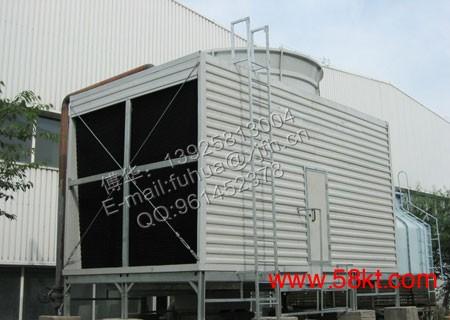 新吉玻璃钢横流式方形冷却塔