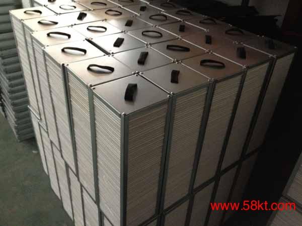 新风板式热交换器芯体