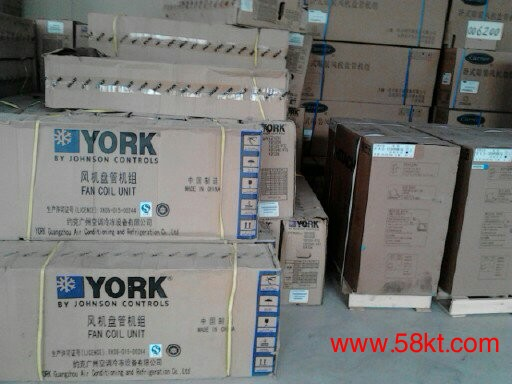 北京约克风机盘管YGFC系列