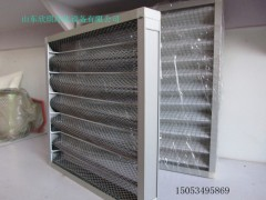 铝板式空气过滤器