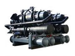 逆流式水/地源热泵机组