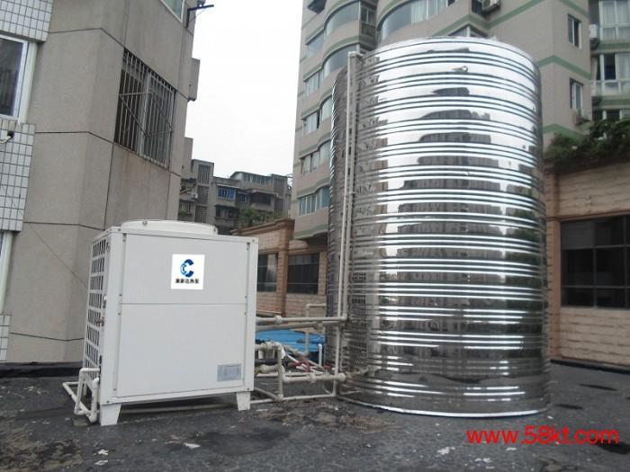 成都工厂学校酒店专用热泵热水设备